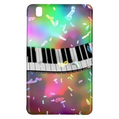 Piano Keys Music Colorful 3d Samsung Galaxy Tab Pro 8 4 Hardshell Case