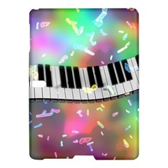 Piano Keys Music Colorful 3d Samsung Galaxy Tab S (10 5 ) Hardshell Case