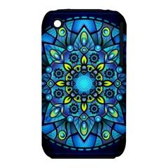 Mandala Blue Abstract Circle Iphone 3s/3gs