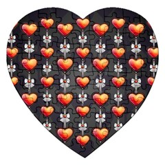 Love Heart Background Jigsaw Puzzle (heart)