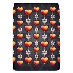 Love Heart Background Flap Covers (l)