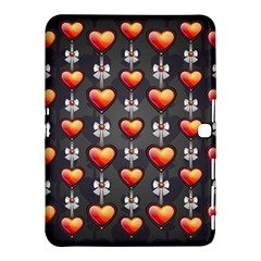 Love Heart Background Samsung Galaxy Tab 4 (10 1 ) Hardshell Case
