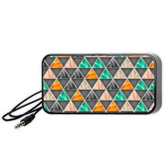 Abstract Geometric Triangle Shape Portable Speaker