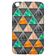 Abstract Geometric Triangle Shape Samsung Galaxy Tab 3 (8 ) T3100 Hardshell Case