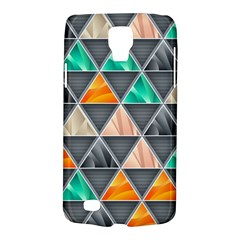 Abstract Geometric Triangle Shape Galaxy S4 Active