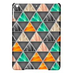 Abstract Geometric Triangle Shape Ipad Air Hardshell Cases