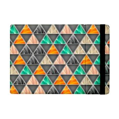 Abstract Geometric Triangle Shape Ipad Mini 2 Flip Cases