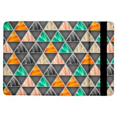 Abstract Geometric Triangle Shape Ipad Air Flip