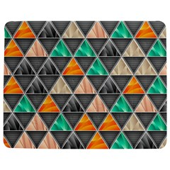 Abstract Geometric Triangle Shape Jigsaw Puzzle Photo Stand (rectangular)