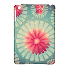 Background Floral Flower Texture Apple Ipad Mini Hardshell Case (compatible With Smart Cover)