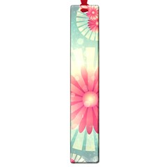 Background Floral Flower Texture Large Book Marks