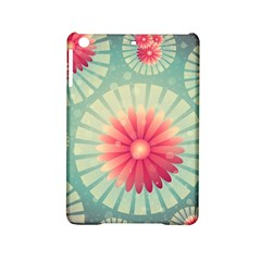 Background Floral Flower Texture Ipad Mini 2 Hardshell Cases