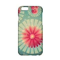 Background Floral Flower Texture Apple Iphone 6/6s Hardshell Case