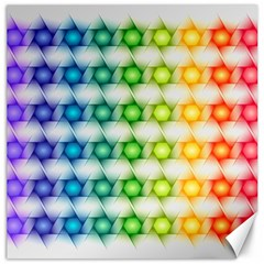 Background Colorful Geometric Canvas 16  X 16