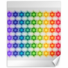 Background Colorful Geometric Canvas 16  X 20