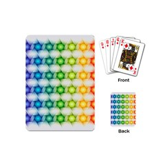 Background Colorful Geometric Playing Cards (mini)
