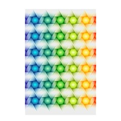 Background Colorful Geometric Shower Curtain 48  X 72  (small)