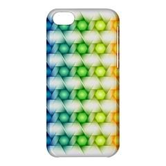 Background Colorful Geometric Apple Iphone 5c Hardshell Case
