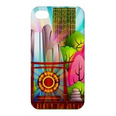 Zen Garden Japanese Nature Garden Apple Iphone 4/4s Hardshell Case