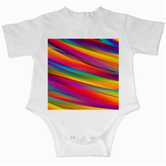 Colorful Background Infant Creepers