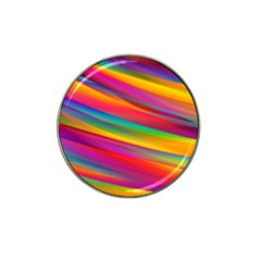 Colorful Background Hat Clip Ball Marker (4 Pack)