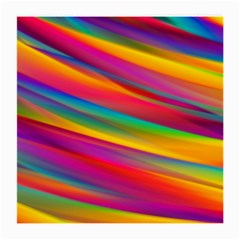 Colorful Background Medium Glasses Cloth