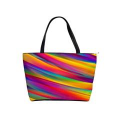 Colorful Background Shoulder Handbags