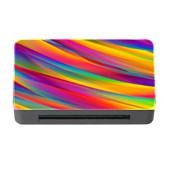 Colorful Background Memory Card Reader With Cf