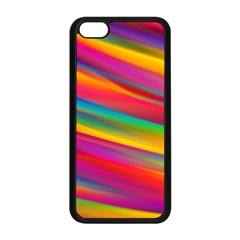 Colorful Background Apple Iphone 5c Seamless Case (black)