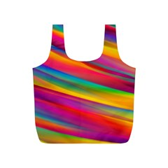 Colorful Background Full Print Recycle Bags (s)