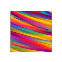 Colorful Background Satin Bandana Scarf