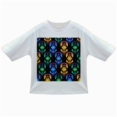 Pattern Background Bright Blue Infant/toddler T Shirts