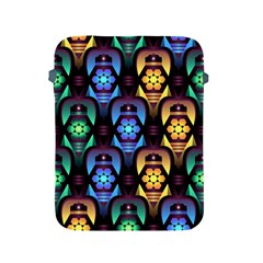 Pattern Background Bright Blue Apple Ipad 2/3/4 Protective Soft Cases
