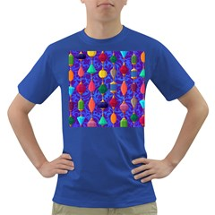 Colorful Background Stones Jewels Dark T Shirt