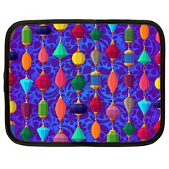Colorful Background Stones Jewels Netbook Case (large)