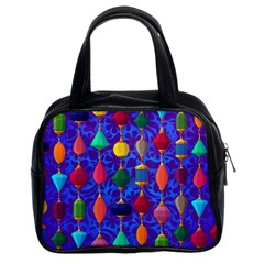 Colorful Background Stones Jewels Classic Handbags (2 Sides)