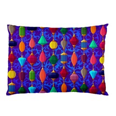 Colorful Background Stones Jewels Pillow Case