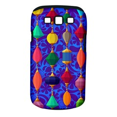 Colorful Background Stones Jewels Samsung Galaxy S Iii Classic Hardshell Case (pc+silicone)