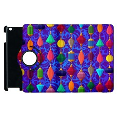 Colorful Background Stones Jewels Apple Ipad 2 Flip 360 Case