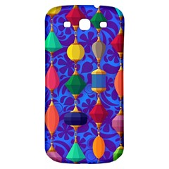Colorful Background Stones Jewels Samsung Galaxy S3 S Iii Classic Hardshell Back Case