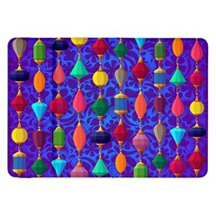 Colorful Background Stones Jewels Samsung Galaxy Tab 8 9  P7300 Flip Case