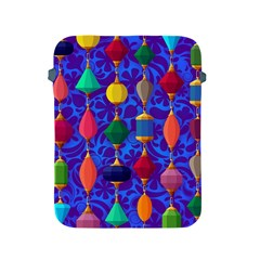 Colorful Background Stones Jewels Apple Ipad 2/3/4 Protective Soft Cases