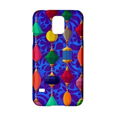Colorful Background Stones Jewels Samsung Galaxy S5 Hardshell Case