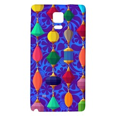 Colorful Background Stones Jewels Galaxy Note 4 Back Case