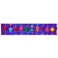 Colorful Background Stones Jewels Small Flano Scarf