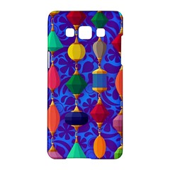 Colorful Background Stones Jewels Samsung Galaxy A5 Hardshell Case
