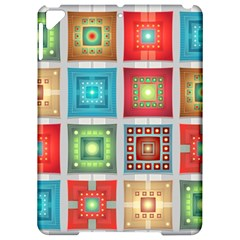Tiles Pattern Background Colorful Apple Ipad Pro 9 7   Hardshell Case