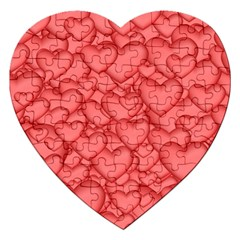 Background Hearts Love Jigsaw Puzzle (heart)