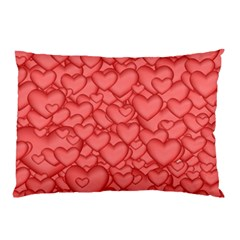 Background Hearts Love Pillow Case