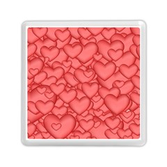 Background Hearts Love Memory Card Reader (square)